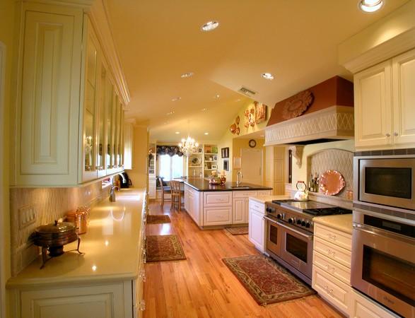 Decoração de cozinhas grandes