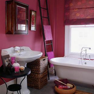 Decoração simples de casas de banho