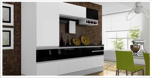 decoracao de interiores cozinha moderna:Cozinha, escolha o tipo certo de material para a sua cozinha.