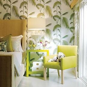 Decoração de quartos ao estilo tropical