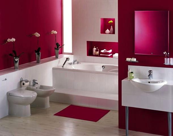 Decoração de casas de banho, wc