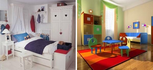 decoração de quartos dos mais novos