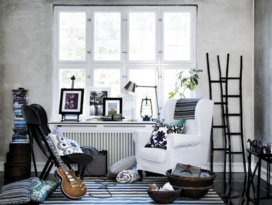 decoração branca de interiores