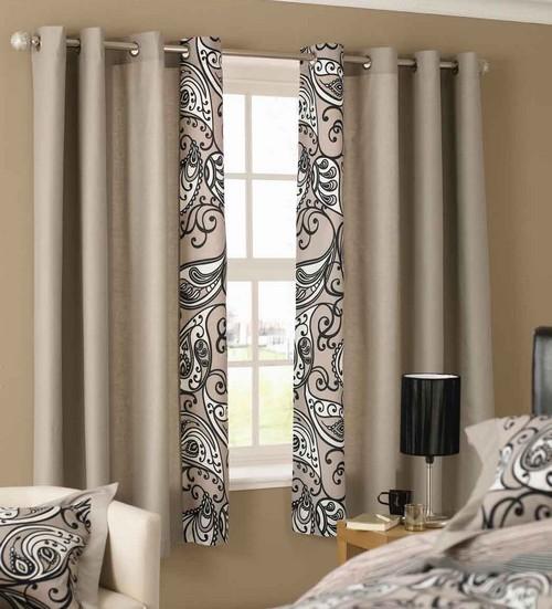 escolher cortinas para o quarto