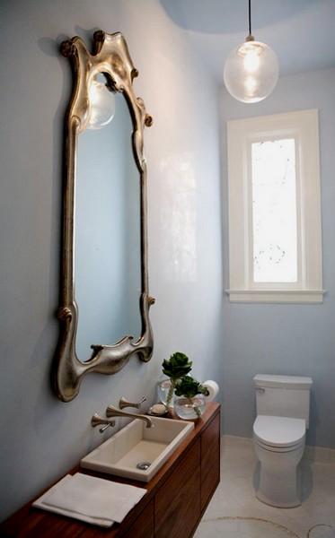 decoração casa de banho chique e bonita