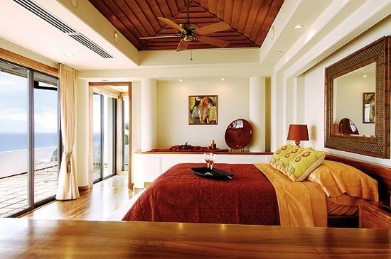 ideias de decoração de um quarto romantico