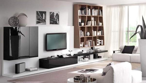 Salas De Estar Super Modernas ~ Decoração de sala de estar moderna