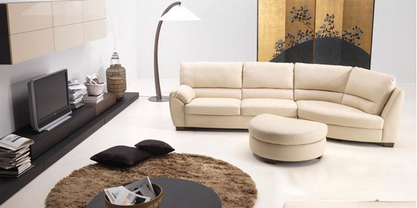 Decora o de salas modernas for Natuzzi muebles
