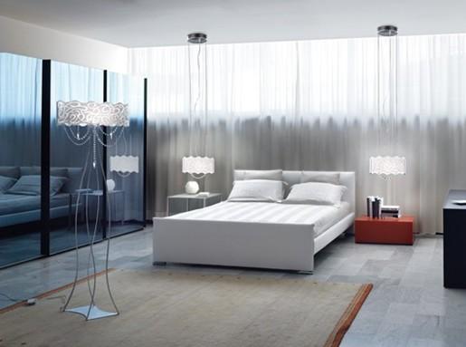a iluminação da casa moderna