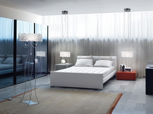 decoracao de interiores de casas modernas : decoracao de interiores de casas modernas:Modern Bedroom Lighting
