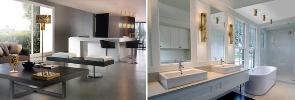 decoracao de interiores de casas modernas : decoracao de interiores de casas modernas:Exemplos de iluminação interior