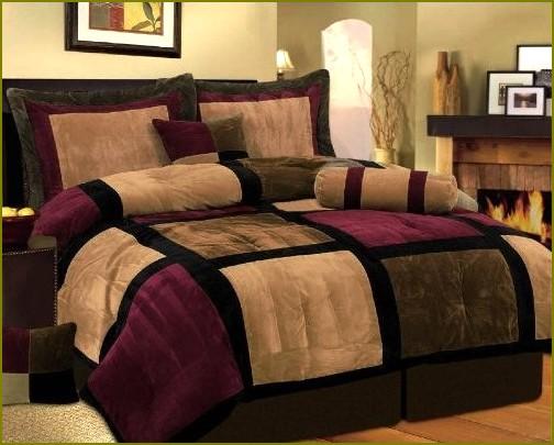 decoracao de interiores salas e quartos:Quarto decorado com cores quentes