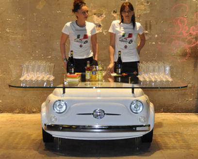 Fiat 500 mesa