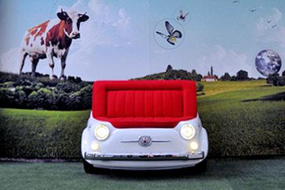 Fiat 500 sofá