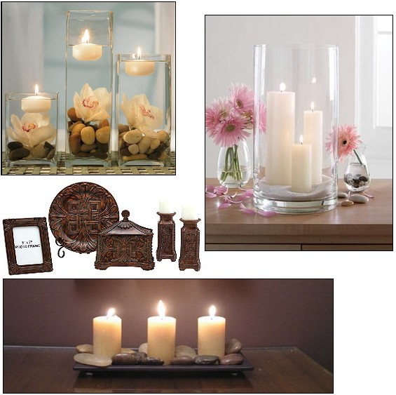 Velas decorativas - Decorar con velas ...