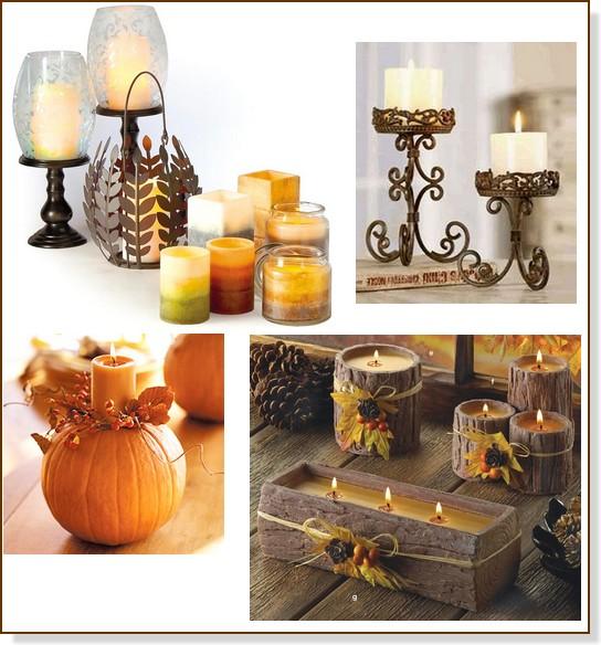 Filosofia de interiores decore com velas - Velas decorativas ...