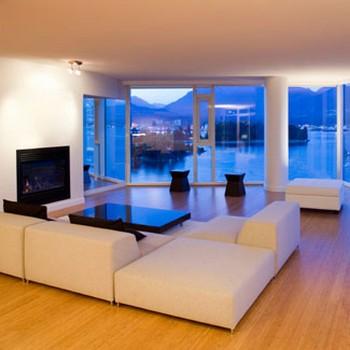 salas de estar minimalistas