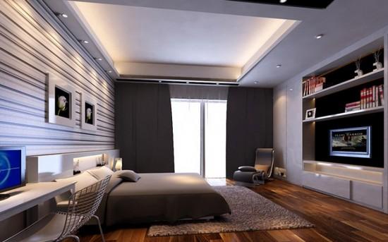 Decoração de interiores  Quartos