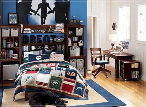Decora o de interiores quartos - Camera per due ragazzi ...