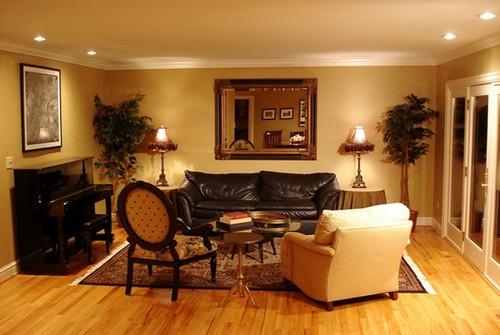 Colorful Decorating Ideas For Small Living Room: Iluminação De Ambientes Interiores