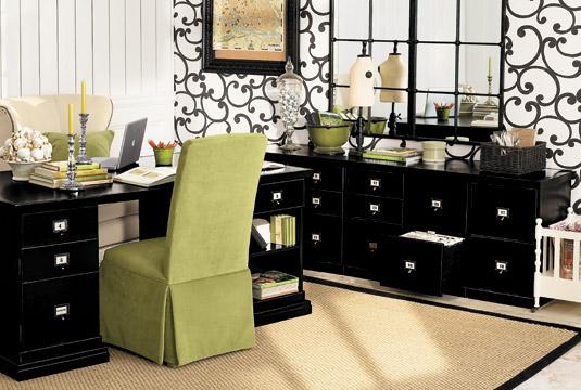 Decoração de gabinetes