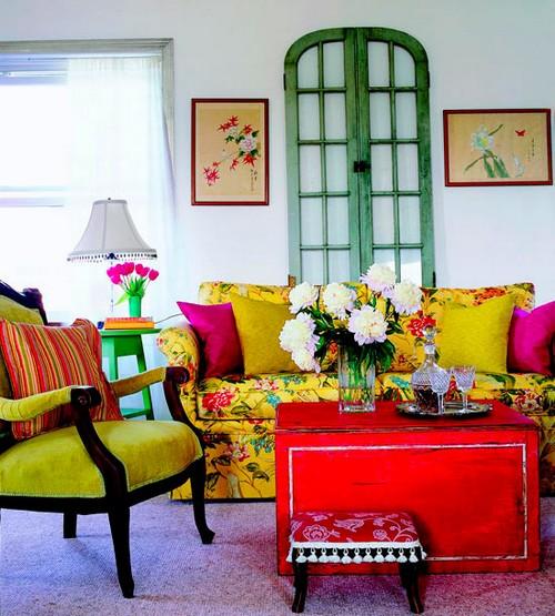 Decora o colorida 40 fotos com ideias decorativas for Muebles pop art