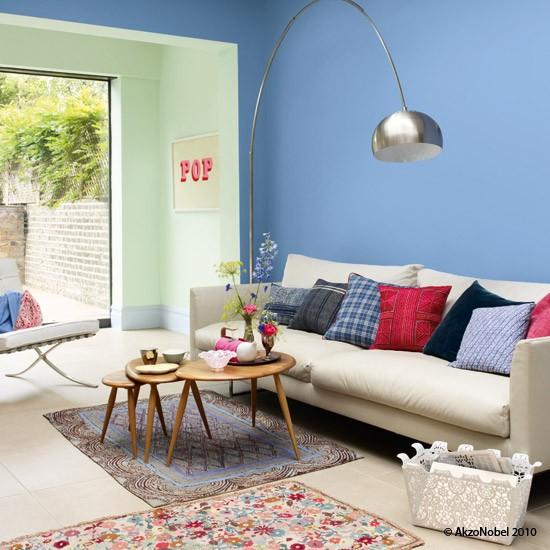 sala com decoração simples