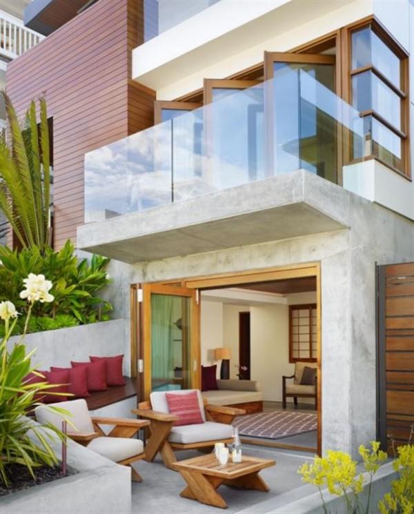 Decoração de terraços e varandas