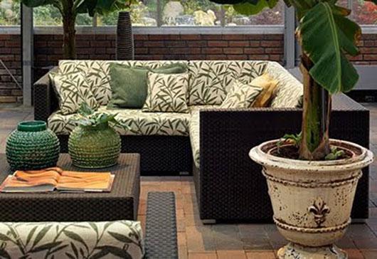Decora o de terra os e varandas - Muebles de jardin y terraza ...