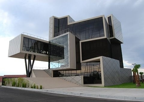 Arquitetura futurista for Ultra modern office building design