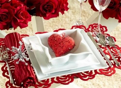 mesa decorada dia namorados Decoração para o Dia dos Namorados