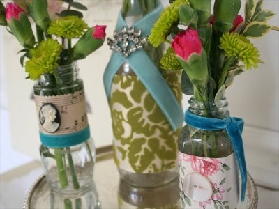 Vasos decorativos coloridos