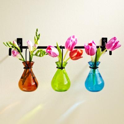 Vasos decorativos de várias cores