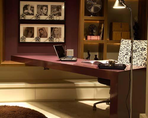 escritório confortável