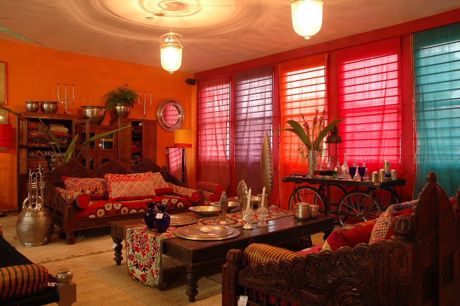 decoracao de interiores estilo oriental:Indian Decoration