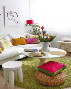 a cor na decoração de ambientes