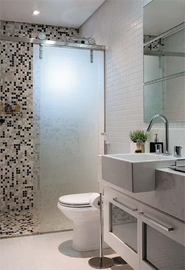 Decoração de banheiros pequenos -> Sugestoes Banheiro Pequeno