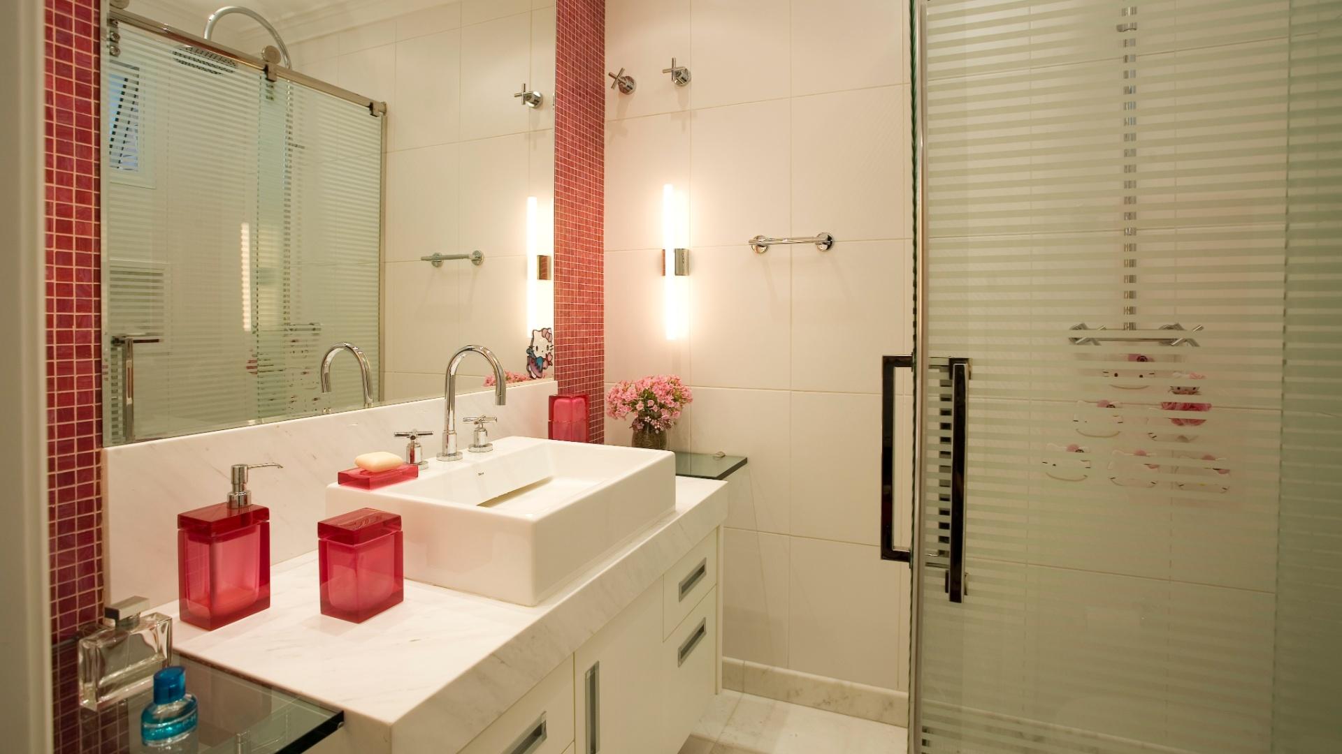 Decoração de banheiros e lavabos -> Banheiros Modernos Pequenos Decorados
