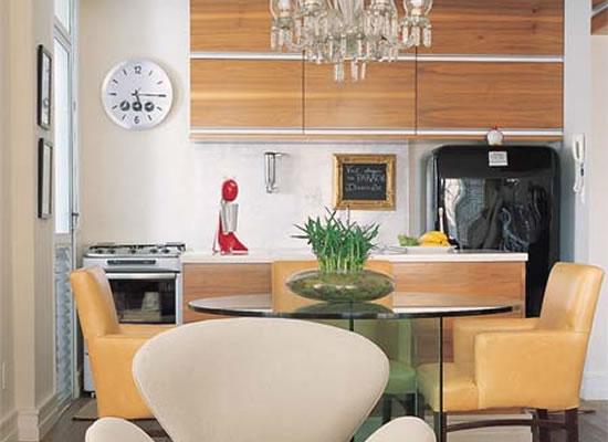 decoração de cozinhas pequenas simples