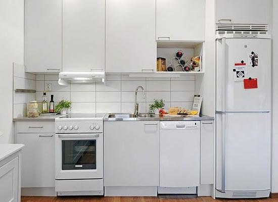 Decoraç u00e3o de cozinhas pequenas # Decoração Cozinha Pequena Barata