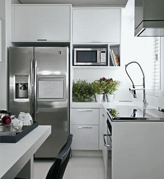 de partilhar sobre a decoração de cozinhas pequenas ? Deixe aqui a