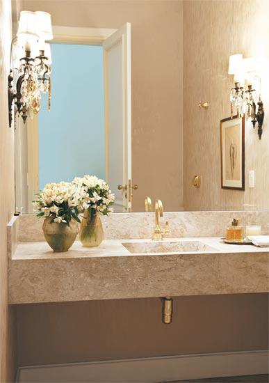 Decoração de banheiros e lavabos -> Decoracao Banheiro Lavabo