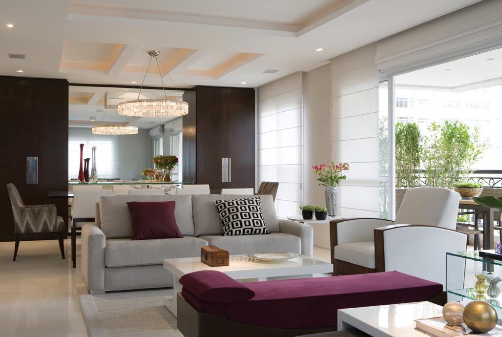 decoração de salas de estar e salas de jantar conjugadas