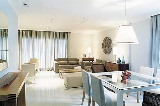 Decora o de salas de estar e salas de jantar conjugadas for Sala de estar simple