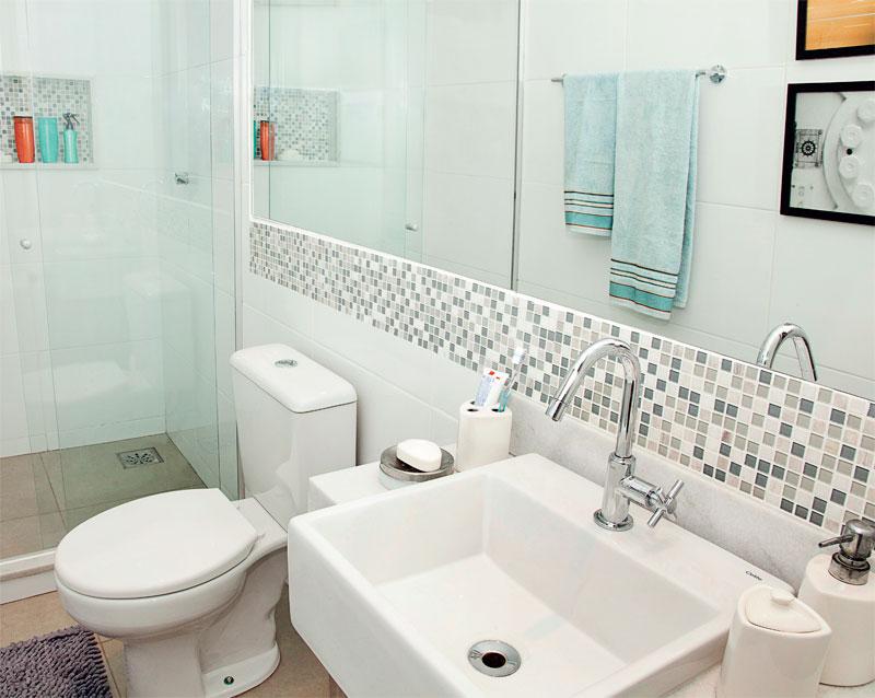 decoracao banheiro de apartamento pequeno : decoracao banheiro de apartamento pequeno:Modelo De Banheiro Pastilhas