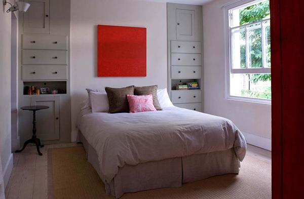 Decoração de casas pequenas e simples com fotos ~ Quarto Pequeno Simples