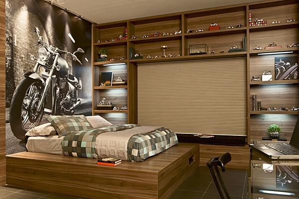 Decoraç u00e3o de quartos masculinos # Decoração De Quarto Jovem Masculino Moderno