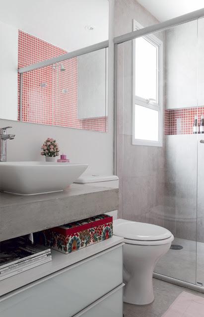 decoração de banheiros de apartamento pequeno -> Decoracao Banheiro Apartamento