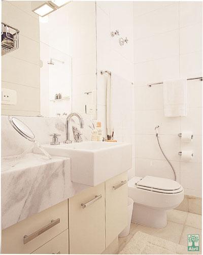 decoracao de banheiro vermelho e branco:Decoração de banheiro branco – Fotos e ideias