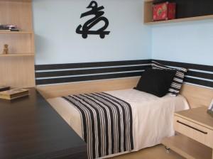 fotos de decoração de quartos masculinos
